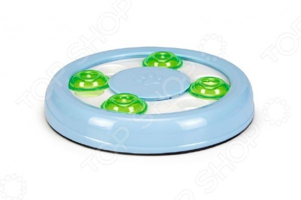 Игрушка-головоломка для кошек Beeztees «Найди лакомство» игрушка головоломка для кошек beeztees найди лакомство диаметр 22 см