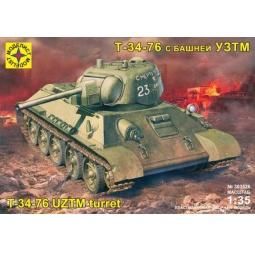 фото Сборная модель танка Моделист «Т-34-76» с башней УЗТМ