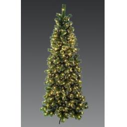 фото Сосна декоративная с подсветкой Holiday Classics «Снежная королева»