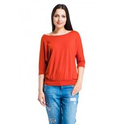 фото Кофта Mondigo 27047. Цвет: терракотовый. Размер одежды: 52