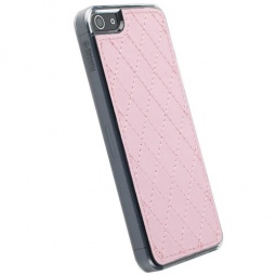 фото Накладка Krusell Avenyn Mobile UnderCover для iPhone 4. Цвет: розовый