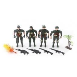 фото Набор фигурок игровой Shantou Gepai «Военный» 309-2