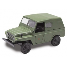 фото Модель армейского автомобиля Пламенный Мотор 870147 Jeep «Военный»