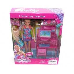 фото Кукла с аксессуарами Shantou Gepai «Бетти-учительница»