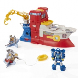 фото Набор игровой для мальчика Hasbro «Трансформеры. Спасательный катер Хай Тайда»