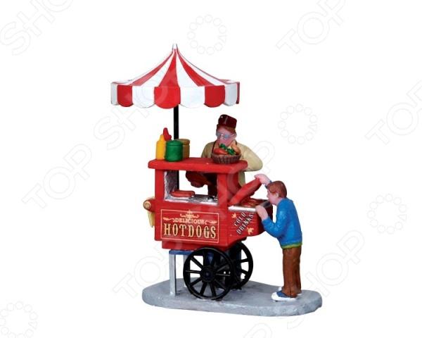 Фигурка керамическая Lemax «Продавец Хот-догов» фигурка керамическая lemax продавец хот догов