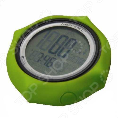 Велокомпьютер проводной Meratti С011 предоставляет точные данные по основным показателям. Легкий и понятный интерфейс компьютера обеспечивает простую навигацию и настройку прибора. Установив велокомпьютер вы сможете контролировать среднюю и максимальную скорость, общее время поездки, общий пробег и расход калорий. Прибор, также выполняет функцию часов, которые отображают время в часах, минутах и секундах. С помощью велокомьютера вы сможете определить режим своих занятий спортом, определять тенденции изменения скорости и нагрузок.
