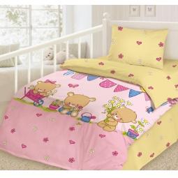фото Детский комплект постельного белья Облачко «Весна»