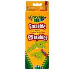 Купить Набор цветных карандашей Crayola Erasable