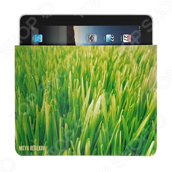Чехол для iPad Mitya Veselkov «Газон» чехлол для ipad iphone mitya veselkov чехол для ipad райский сад ip 08