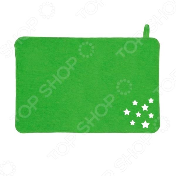 Коврик войлочный Банные штучки 41130 «Звезды» коврик для сауны банные штучки коврик звёзды банные штучки зеленый войлок