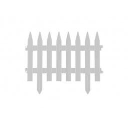 фото Забор декоративный Grinda «Классика» 422201. Цвет: белый