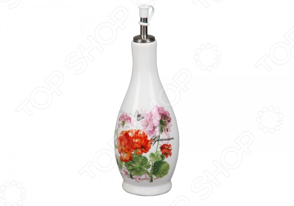 Бутылка для масла Rosenberg 8100 станет отличным дополнением к набору ваших кухонных аксессуаров и принадлежностей. Она выполнена в виде декоративной емкости с крышкой-дозатором и предназначена для хранения растительного масла: оливкового, подсолнечного и т.д. Бутылка выполнена из высококачественной керамики и украшена оригинальным рисунком. Объем бутылки 450 мл.
