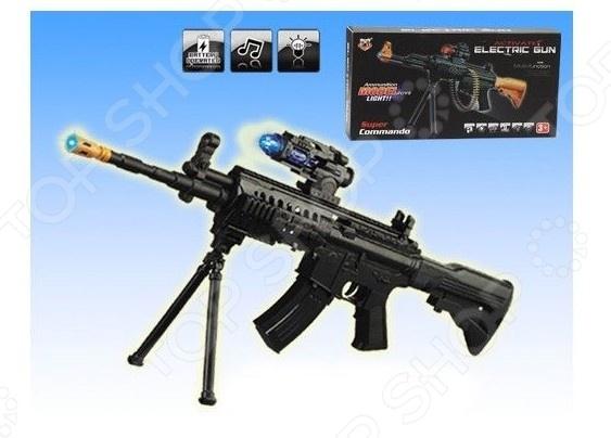 Автомат игрушечный 1707316 1 toy игрушечный автомат пулемет взвод
