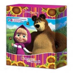 Купить Комплект тетрадей Маша и Медведь 21472