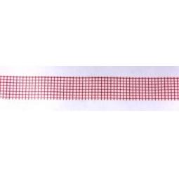 фото Скотч бумажный с рисунком ScrapBerry's Мелкая клетка. Цвет: красный