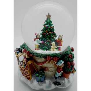 Купить Снежный шар декоративный Crystal Deco «Дети вокруг елочки»