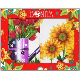фото Комплект из 2-х махровых полотенец подарочный BONITA «Настроение»