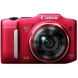 фото Фотокамера цифровая Canon PowerShot SX160 IS. Цвет: красный