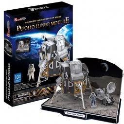 Купить Пазл 3D CubicFun «Лунный модуль корабля Аполлон»