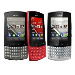 фото Мобильный телефон Nokia 303 Asha. Цвет: красный