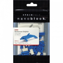 Купить Мини-конструктор Nanoblock «Дельфин»