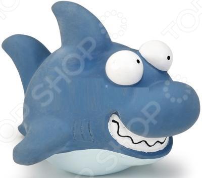 Игрушка для собак Beeztees «Акула» 621147 трикси игрушка для собак щенок 8 см латекс цвет в ассортименте