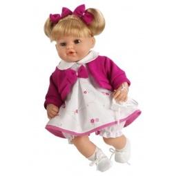 фото Кукла интерактивная Arias «Блондинка». Цвет: фиолетовый