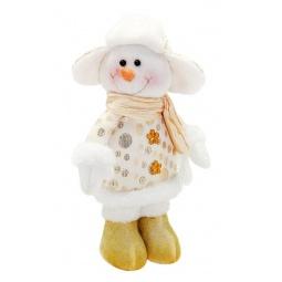 фото Игрушка новогодняя Новогодняя сказка «Снеговик» 949175