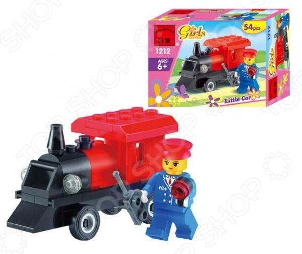 Конструктор игровой Brick «Паровоз» Mini 1717110