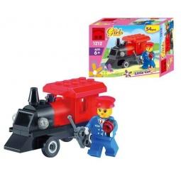 Купить Конструктор игровой Brick «Паровоз» Mini 1717110