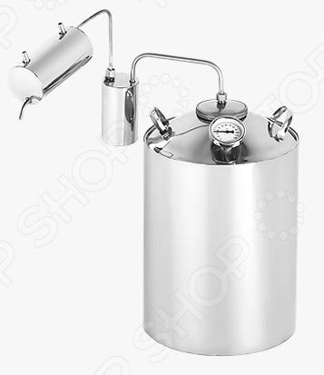 Самогонный аппарат Магарыч «Премиум 12БКТ»Домашние мини-пивоварни. Самогонные аппараты<br>Самогонный аппарат Магарыч Премиум 12БКТ аппарат, используемый для получения самогона в домашних условиях. Принцип работы прибора основан на методе дистилляции, а именно на испарении спирта с его последующей конденсацией. Модель выделяется следующими особенностями:  Изготовлен из пищевой нержавеющей стали марки AISI 304. Материал абсолютно гигиеничен, при этом не вступает в реакцию с жидкостями внутри куба. Все это обеспечивает долгий и качественный срок службы устройства.  Вы получаете готовый продукт высочайшего качества, очищенный от вредных веществ. Все благодаря сухопарнику, в котором остаются сивушные масла. Он легко снимается и моется.  Качественный самогон получается только при определенной температуре примерно 73-78 C . Именно поэтому самогонный аппарат оснащен встроенным немецким термометром, который поможет точно контролировать уровень температуры.  Широкая горловина диаметром 7,5 см.  Скорость перегонки около 1 л час. Аппарат прост в использовании и безопасен при соблюдении всех инструкций и рекомендаций от производителя. Перед началом применения обязательно ознакомьтесь с инструкцией.<br>