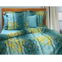 фото Комплект постельного белья из сатина Tete-a-Tete «Сигнатура». 1,5-спальный