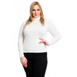 фото Водолазка Mondigo XL 046. Цвет: молочный. Размер одежды: 52