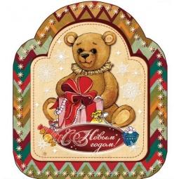 фото Магнит декоративный Феникс-Презент «Мишка плюшевый с подарком» 34832