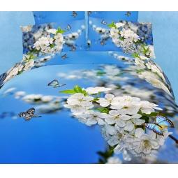 фото Комплект постельного белья Buenas Noches Cheremuha. Satin Fotoprint. Евро