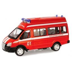 фото Машинка инерционная PlaySmart «Автопарк. Пожарная охрана»