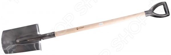 Лопата штыковая Зубр 4-39412 лопата штыковая дренажная truper 17163