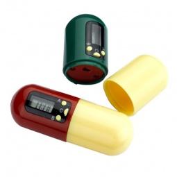 Купить Контейнер для таблеток с таймером BRADEX «Напоминатель»