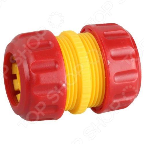 Муфта шланг-шланг с усиленным пластиком Grinda Муфта шланг-шланг с усиленным пластиком Grinda 8-426343_z01 /3/4
