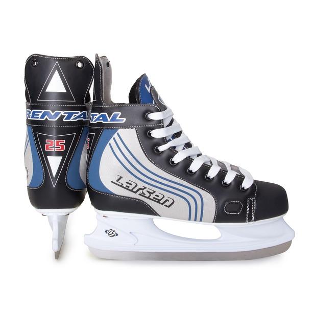 фото Коньки хоккейные Larsen Rental H02. Размер: 43