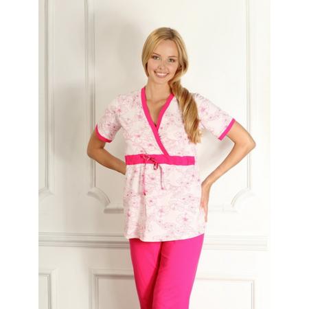 Купить Пижама для беременных Nuova Vita 207.2. Цвет: розовый, фуксия