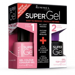 фото Лак для ногтей Rimmel Super Gel. Тон: 022