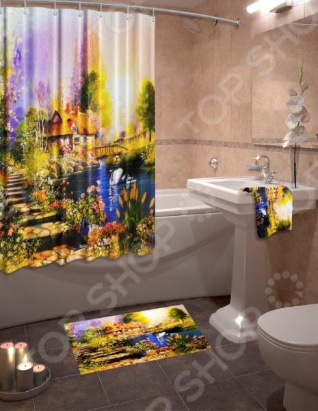 Коллекция для ванной комнаты «Дом у озера»