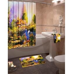 Купить Коллекция для ванной комнаты «Дом у озера»
