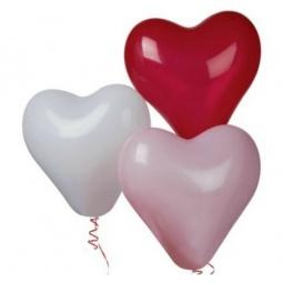 Купить Набор надувных шариков Everts «Сердечки»