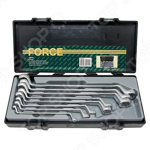 Набор ключей накидных Force F-5081S набор накидных ключей 10шт sata 08012