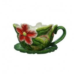 фото Кашпо декоративное Valenсia «Цветок земляники»