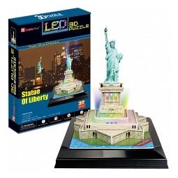 Купить Пазл 3D CubicFun «Статуя Свободы с иллюминацией»
