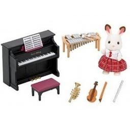фото Набор игрушек-зверюшек Sylvanian Families 5106 «Школьный оркестр»